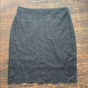 NWT Banana Republic Lace Skirt
